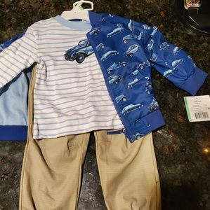 Toddler boy 3 piece outfit